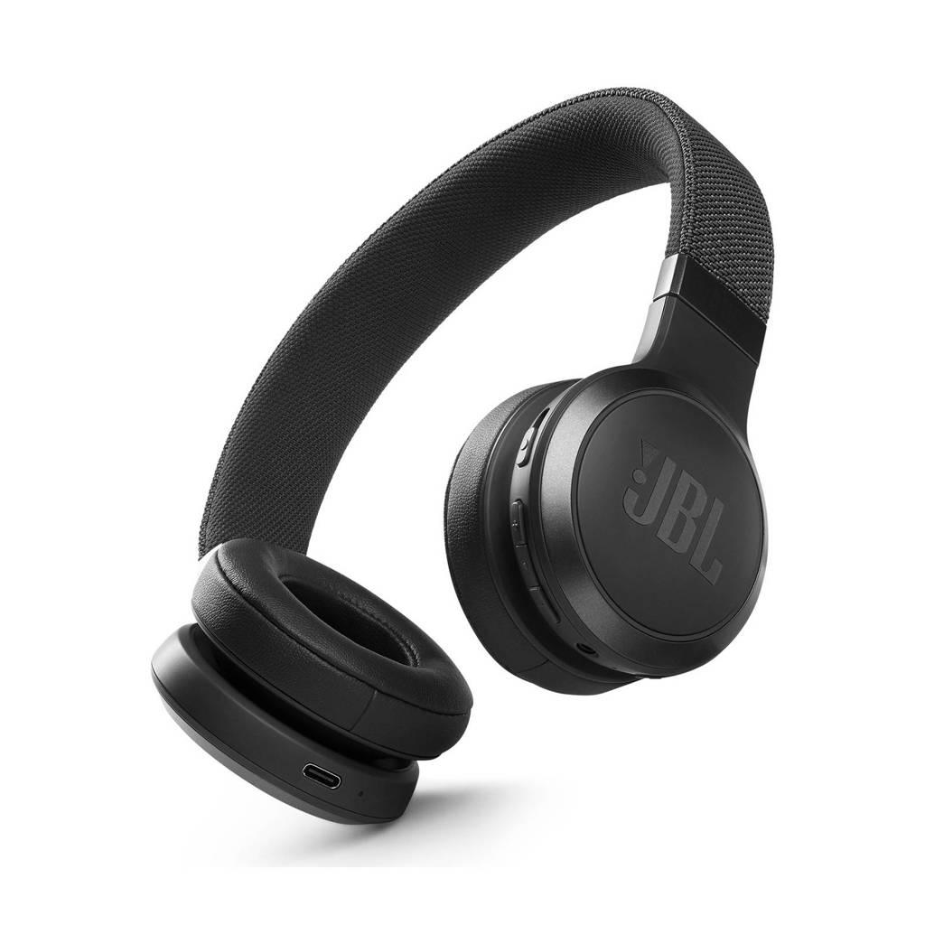 JBL Live 460NC draadloze on-ear hoofdtelefoon (zwart), Zwart