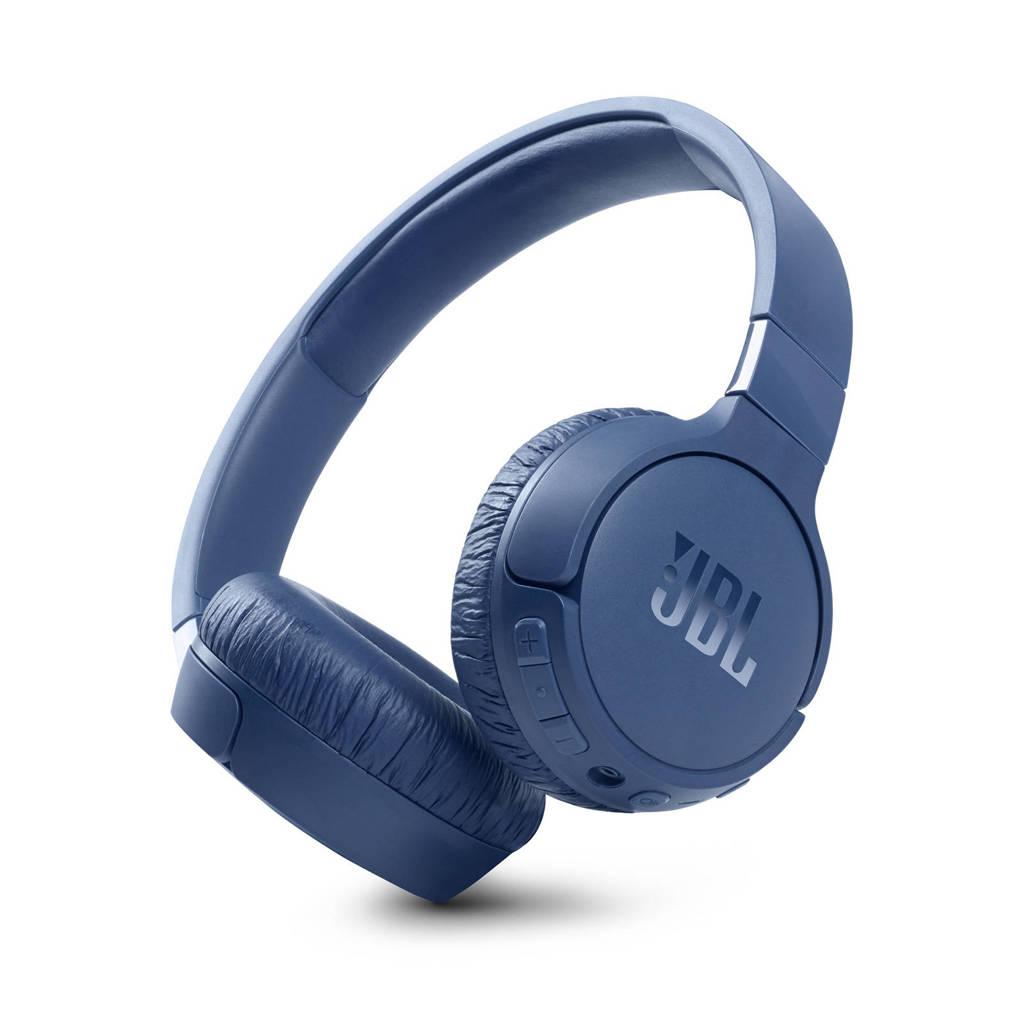 JBL Tune 660NC draadloze over-ear hoofdtelefoon (blauw), Blauw