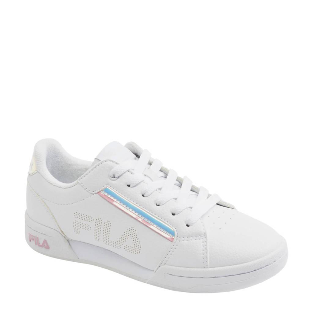 Fila   sneakers wit/roze/zilver, Roze/wit