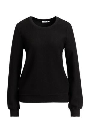 gebreide sweater zwart