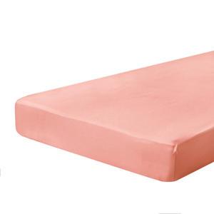 katoenen hoeslaken roze