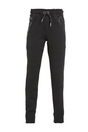 regular fit joggingbroek Lax zwart