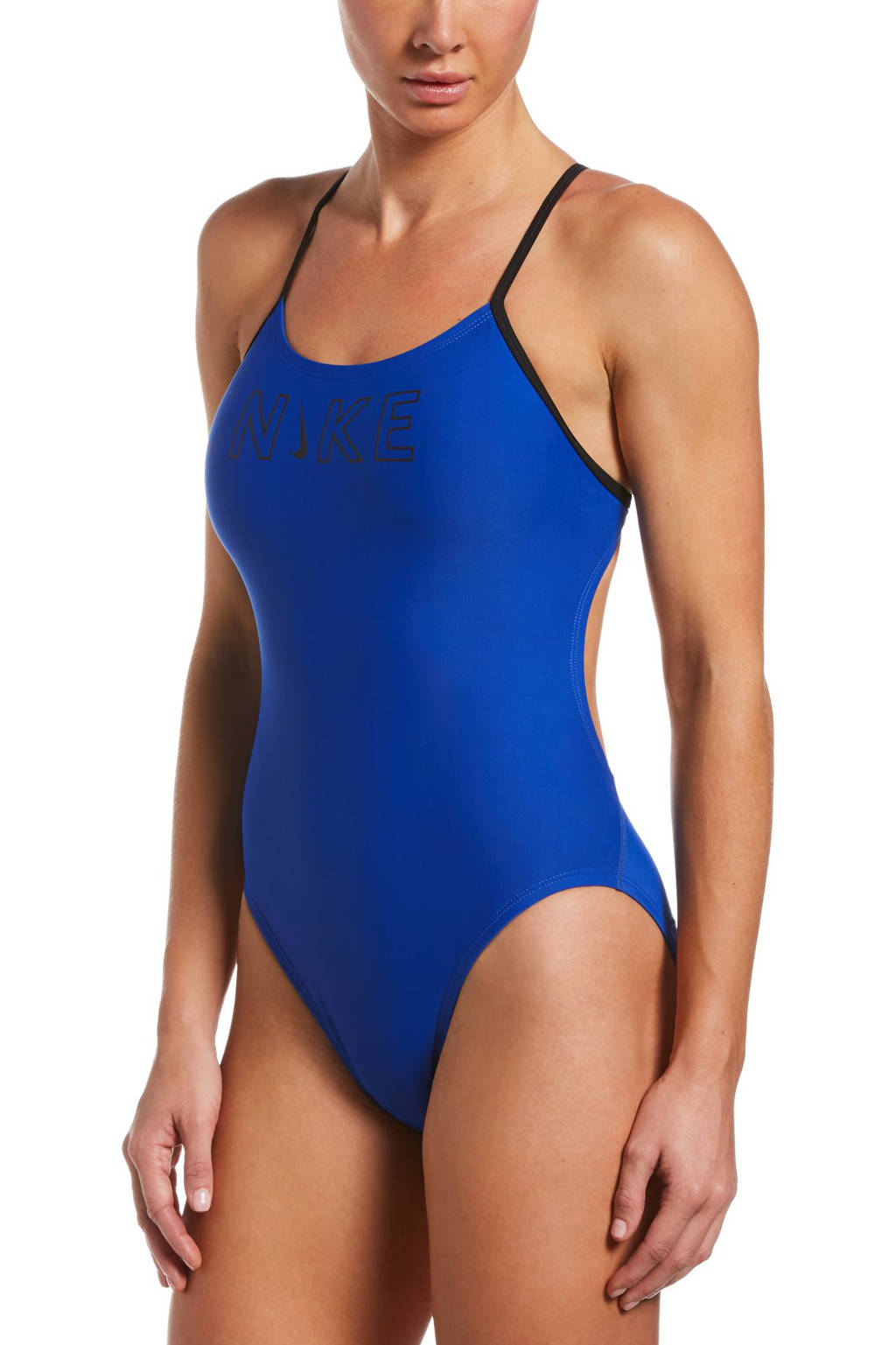 Nike sportbadpak blauw, Blauw