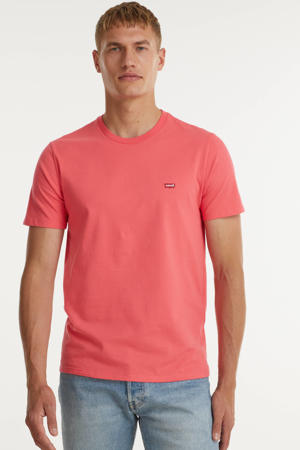 T-shirt Original HM koraalrood
