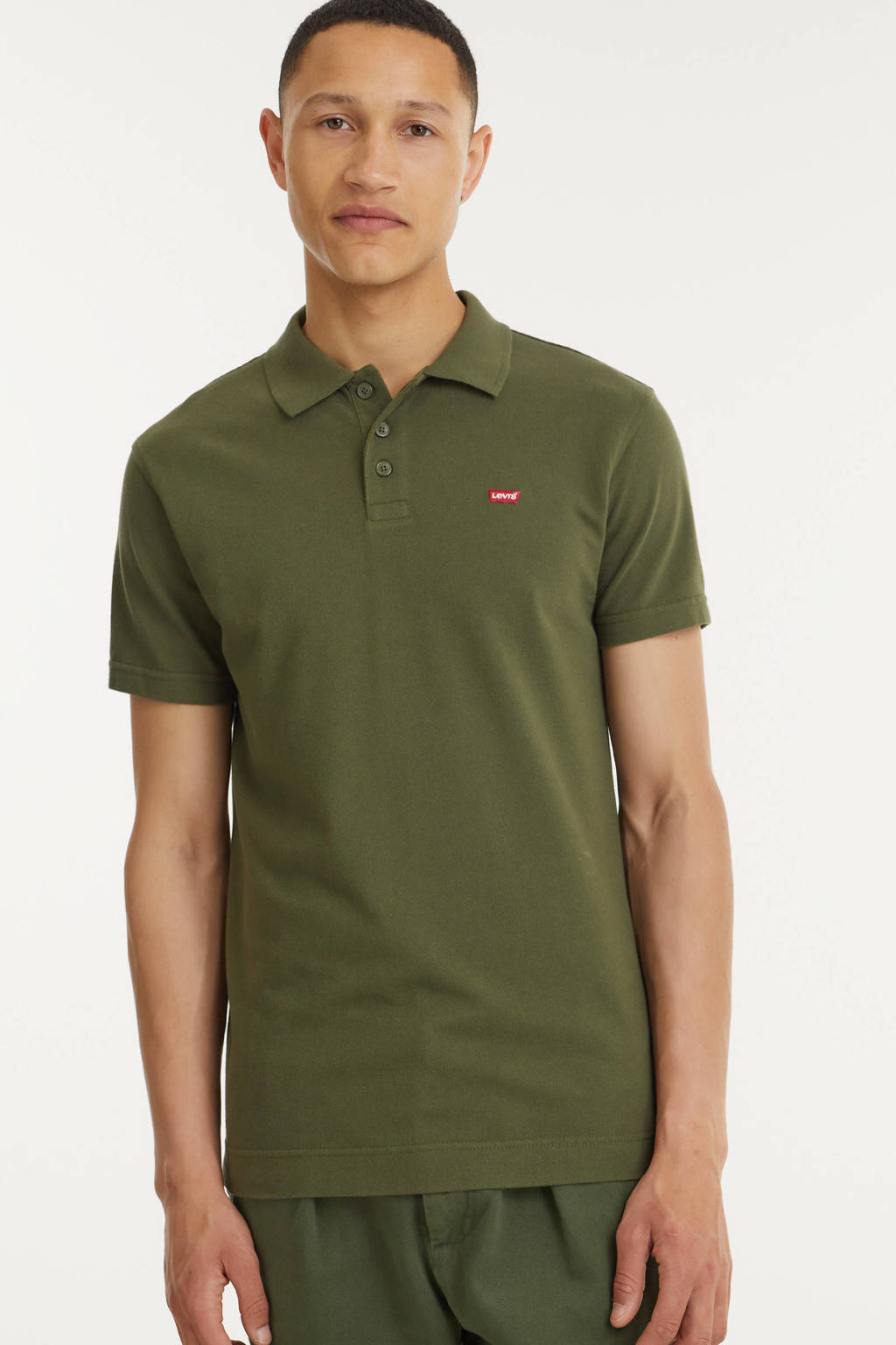 Levi's regular fit polo O.G BATWING  olive night, Olive night