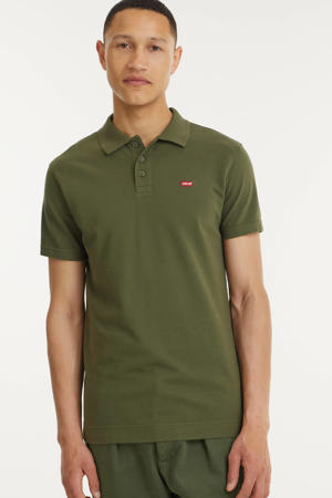 regular fit polo O.G BATWING  olive night