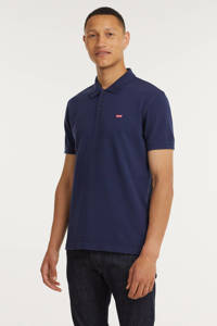 Levi's regular fit polo donkerblauw, Donkerblauw