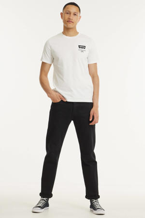 T-shirt HOUSEMARK GRAPHIC met logo wit