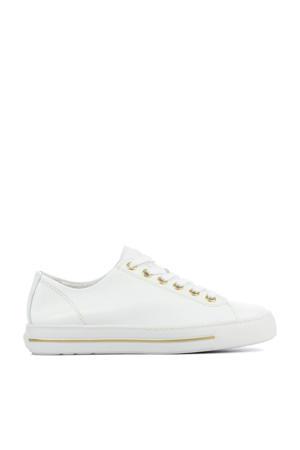 4704  leren sneakers wit