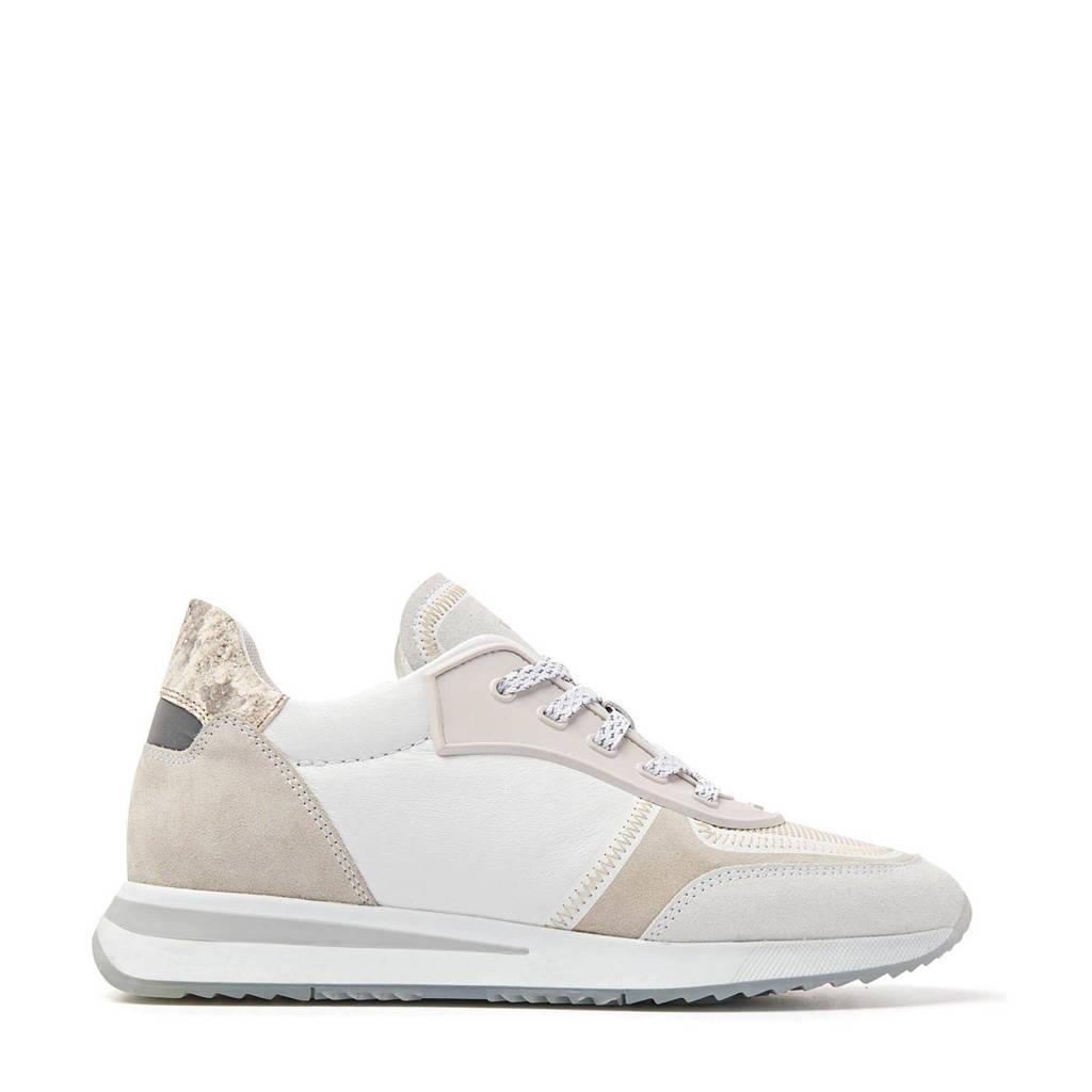 Via Vai 5611019  leren sneakers wit/beige, Wit/beige