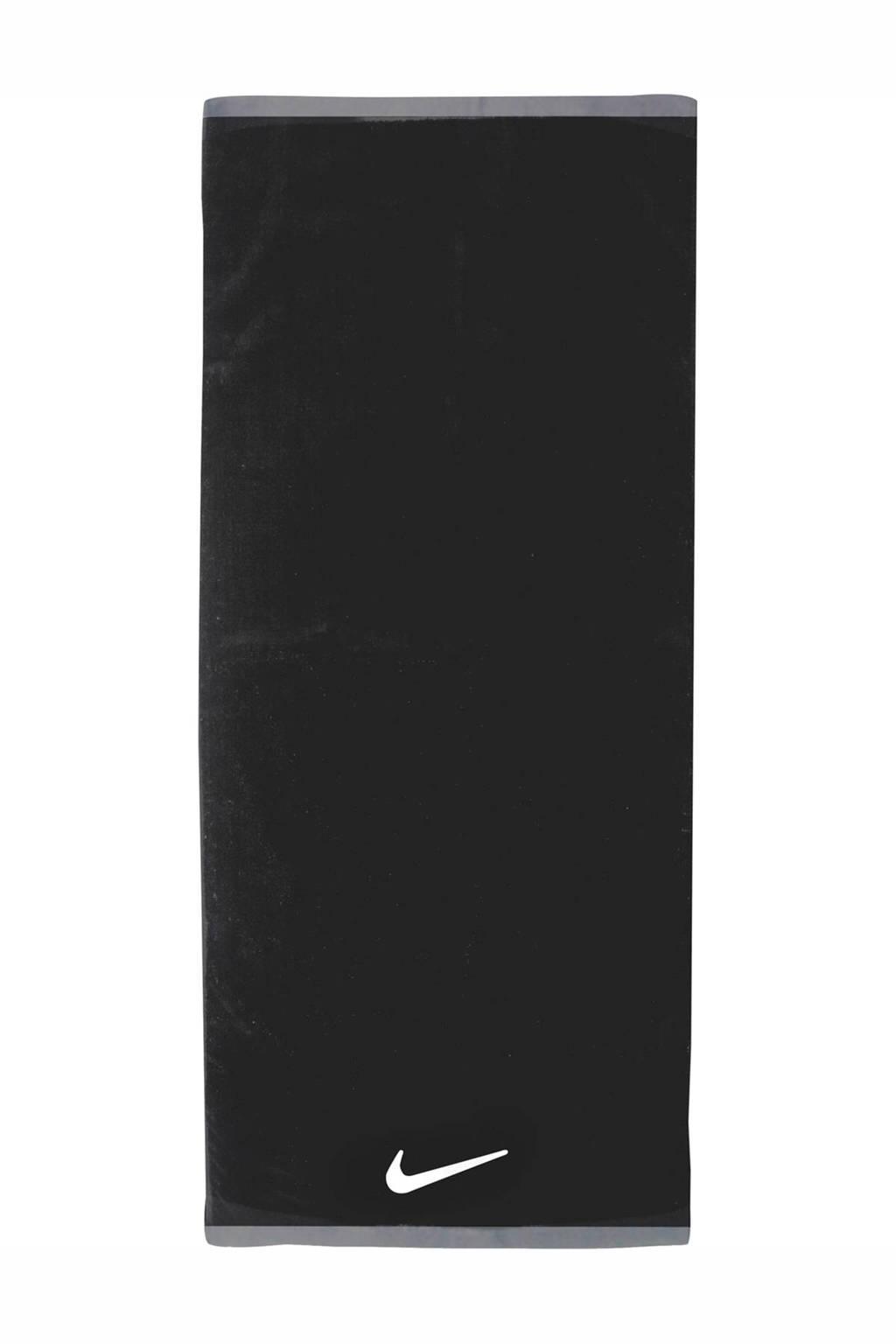 Nike   sporthanddoek Fundamental L zwart/wit, Zwart/wit