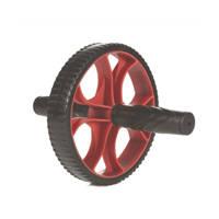 Gymstick  trimwiel zwart/rood, Zwart/rood