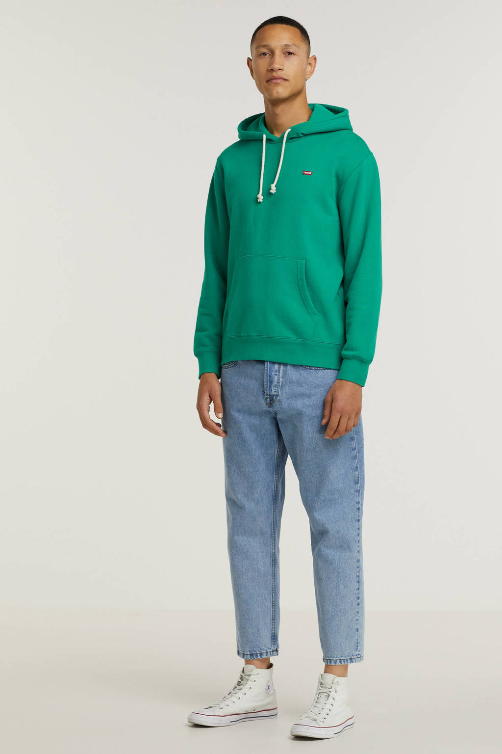 Levi's hoodie NEW ORIGINAL turquoise, Turquoise