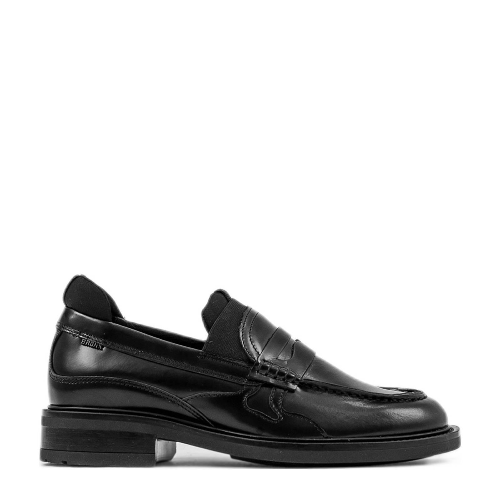 Bronx Loafers Ivy-Jazz Low Shoes Zwart online kopen