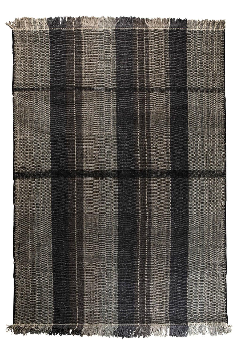 Zuiver vloerkleed  (230x160 cm), Zwart-Wit