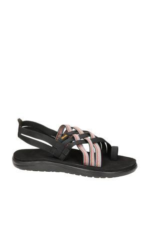 Voya Strappy  outdoor sandalen zwart/roze