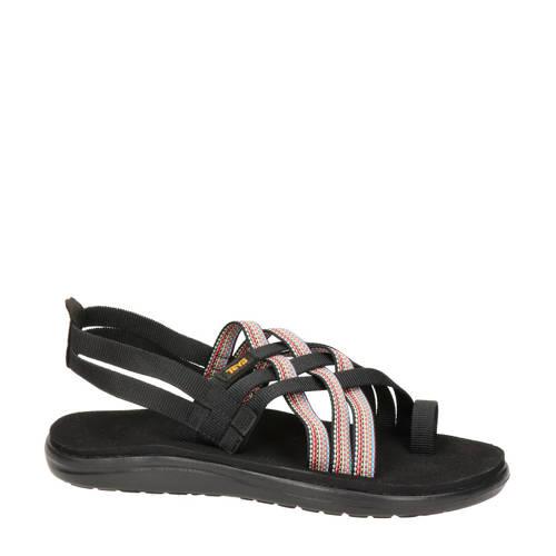 Teva Voya Strappy outdoor sandalen zwart/roze