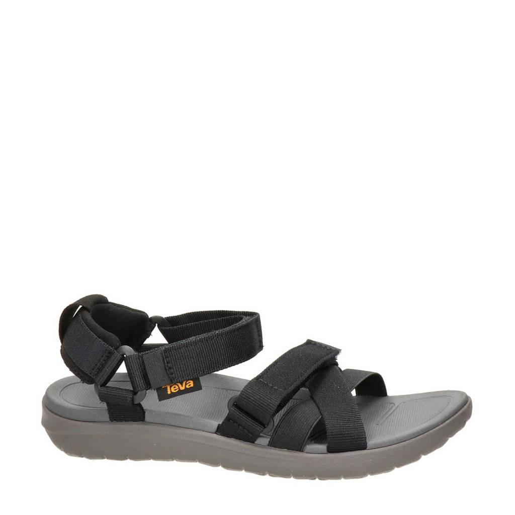 Teva Sanborn Mia  sandalen zwart, Zwart