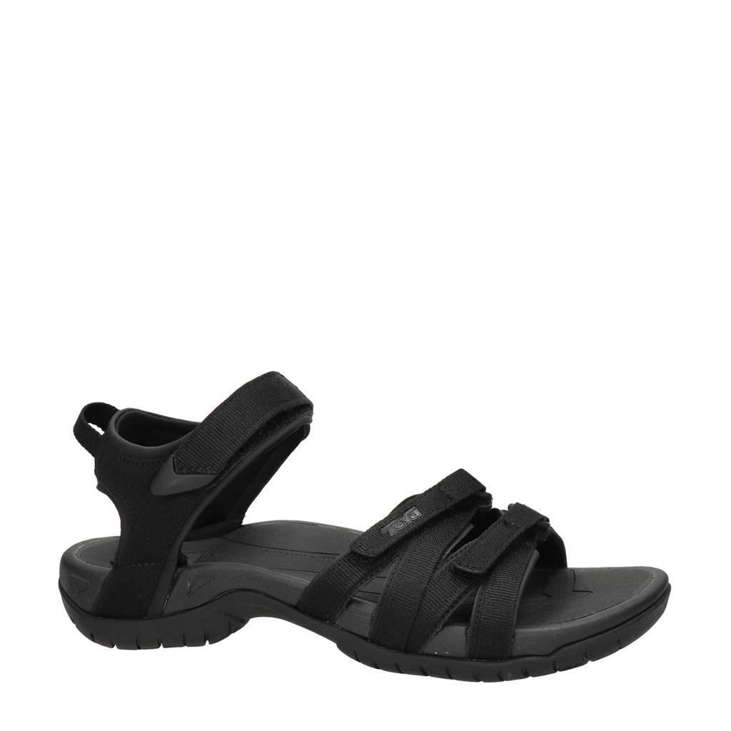 Teva Tirra  outdoor sandalen zwart, Zwart