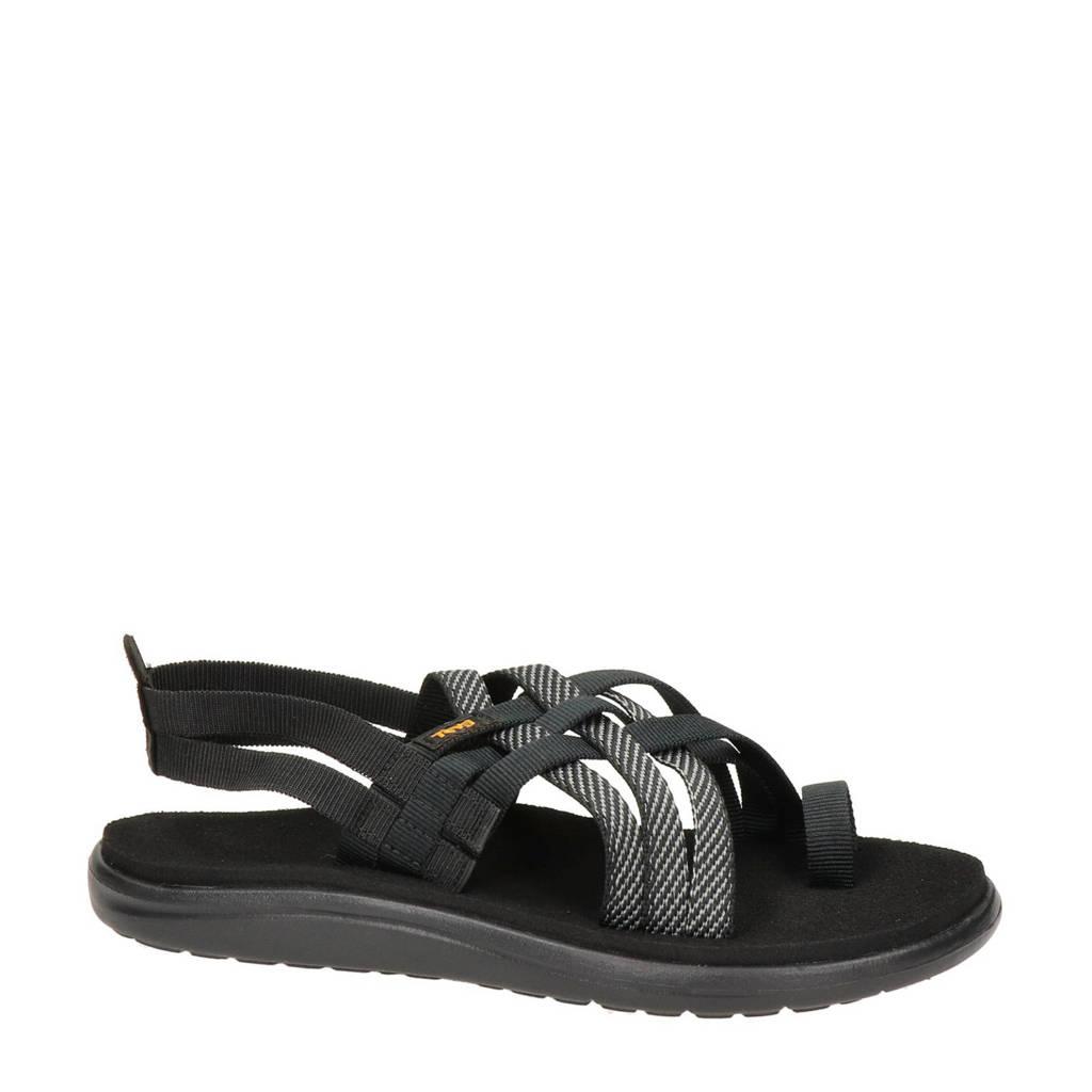 Teva Voya Strappy  outdoor sandalen zwart, Zwart