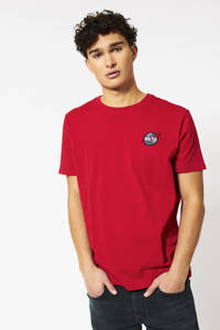 America Today T-shirt NASA met 3D applicatie rood, Rood