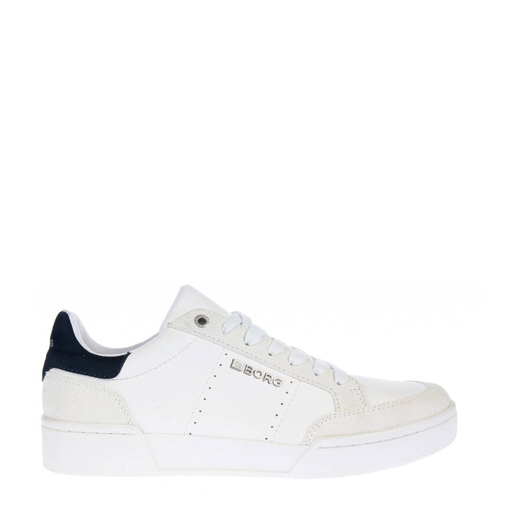 Björn Borg T1316 SPT M 1973  sneakers wit/donkerblauw, Wit/donkerblauw