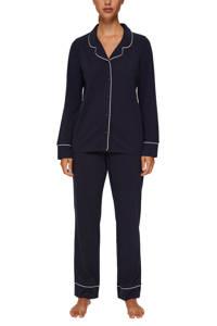 ESPRIT Women Bodywear pyjama donkerblauw, Donkerblauw