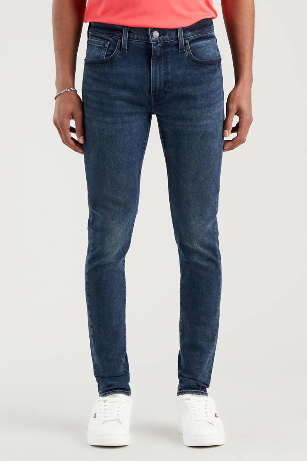 Levi's 519 skinny taper jeans ocean pewter, Ocean Pewter