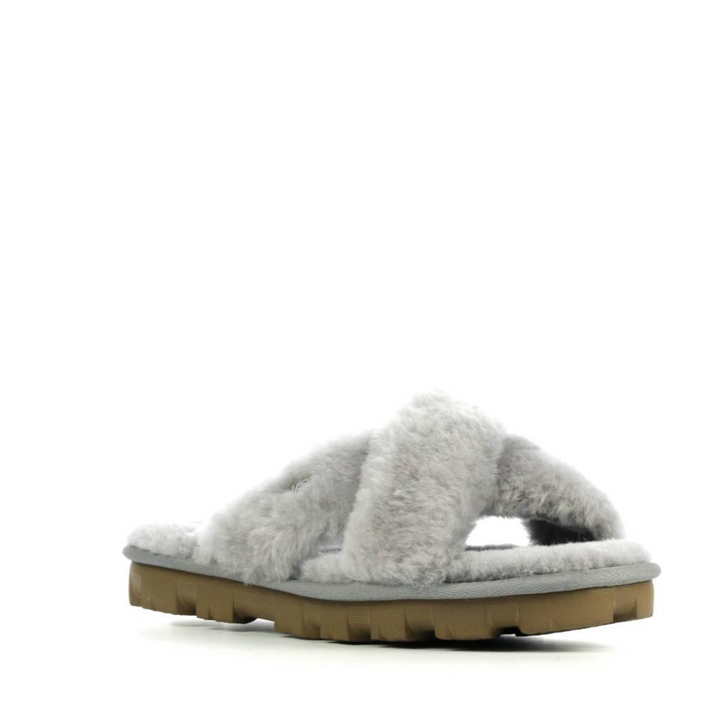 UGG Fuzette pantoffels grijs, Grijs