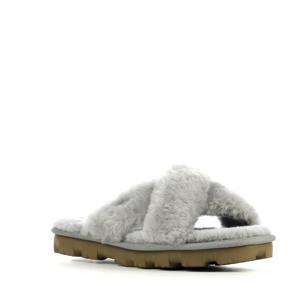 Fuzette pantoffels grijs
