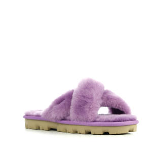 Fuzette pantoffels lila