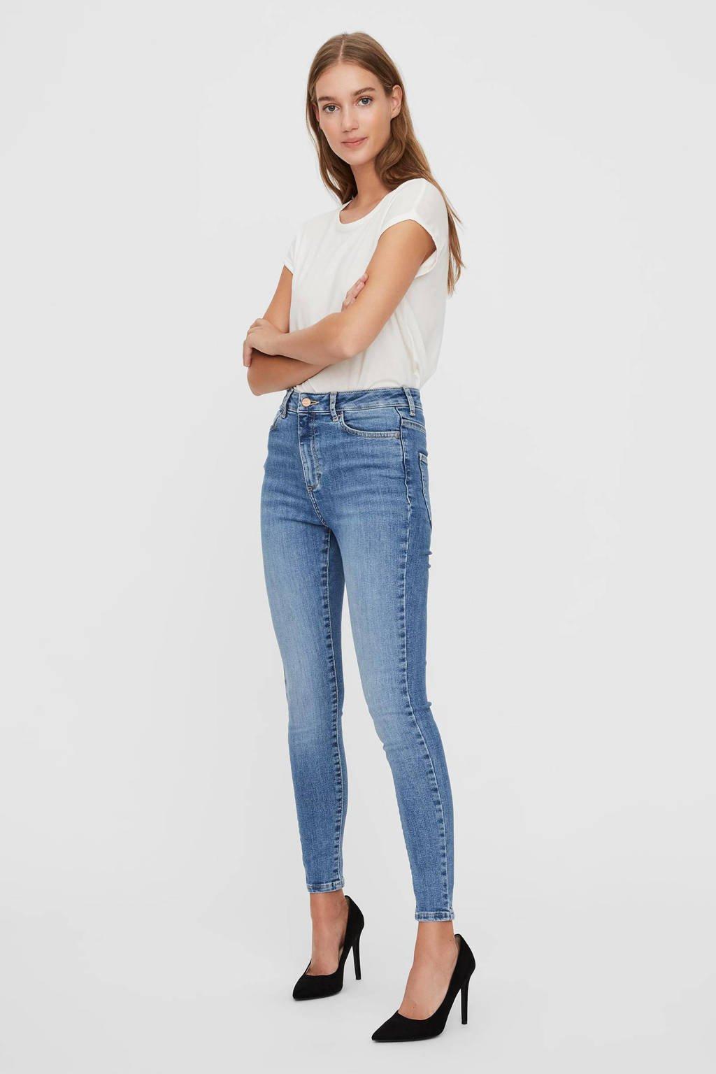 AWARE by VERO MODA skinny jeans VMSOPHIA light blue denim, Light blue denim
