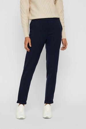 slim fit pantalon VMMAYA donkerblauw