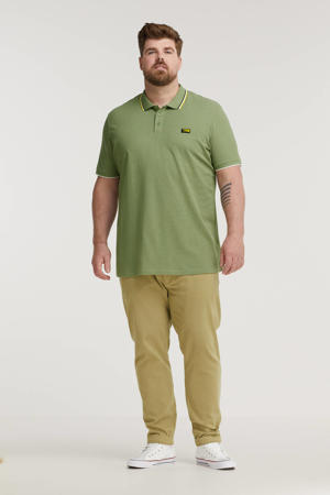 regular fit chino Plus Size beige