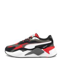 Puma RS-X³ Twill AirMesh   RS-X³ Twill AirMesh sneaker grijs/zwart/rood, Grijs/zwart/rood