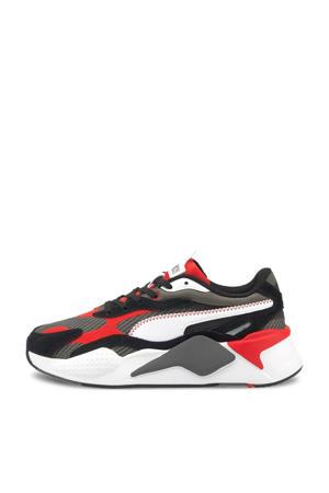 RS-X³ Twill AirMesh   RS-X³ Twill AirMesh sneaker grijs/zwart/rood