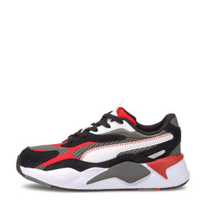RS-X³ Twill AirMesh  RS-X³ Twill AirMesh sneakers grijs/zwart/rood