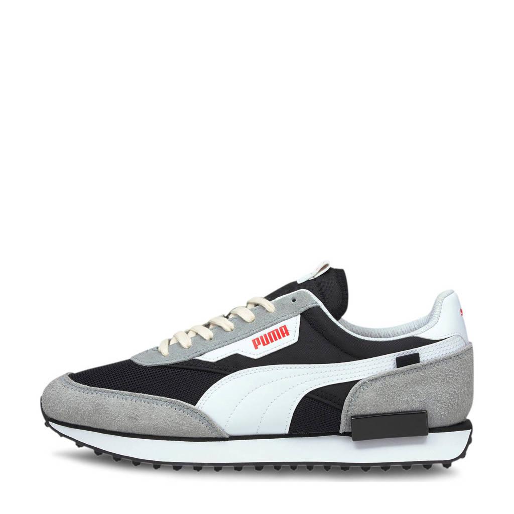 Puma Future Rider Vintage  sneakers zwart/grijs/wit, Zwart/grijs/wit