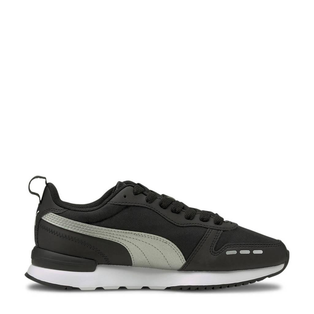 Puma R78 Wmn's Metallic FS  sneakers zwart/zilver, Zwart/zilver