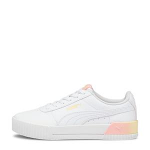 Carina Summer Fade Jr  sneakers wit/geel/roze