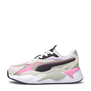 RS-X³ Twill AirMesh PS  sneakers grijs/violet/wit