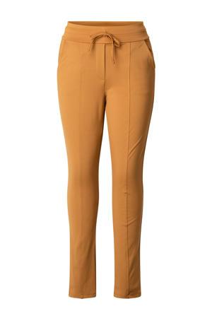 high waist skinny broek Naïma oranje