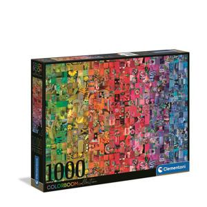 Collage - Colorboom collection   legpuzzel 1000 stukjes