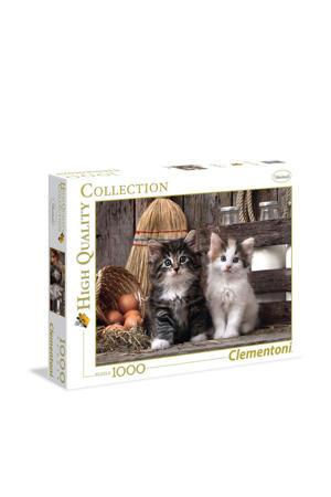 Lovely kittens   legpuzzel 1000 stukjes