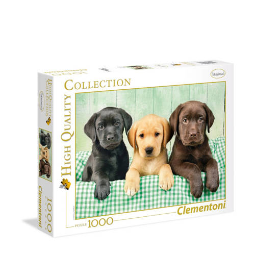 Clementoni puppies puzzel