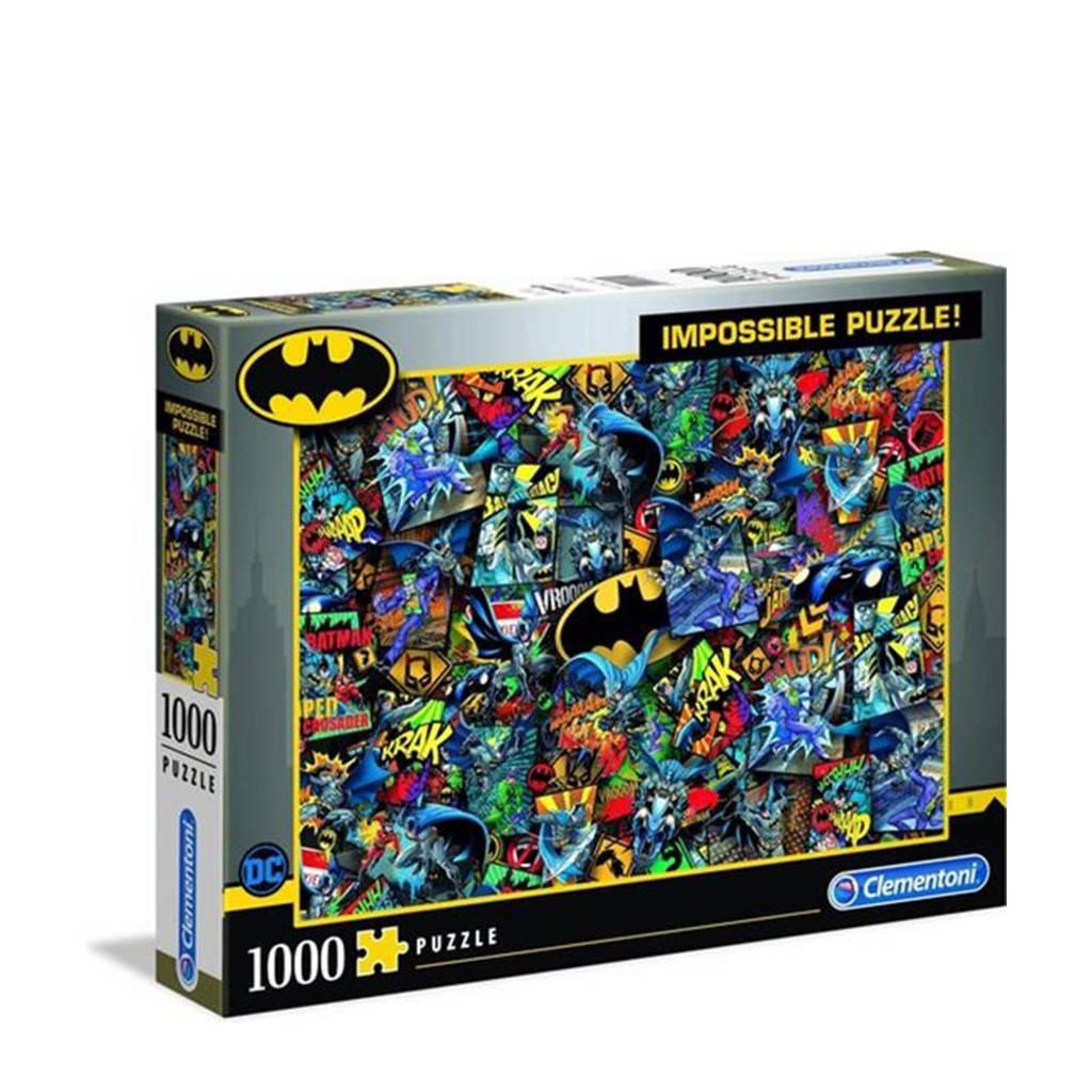 Clementoni Batman  legpuzzel 1000 stukjes