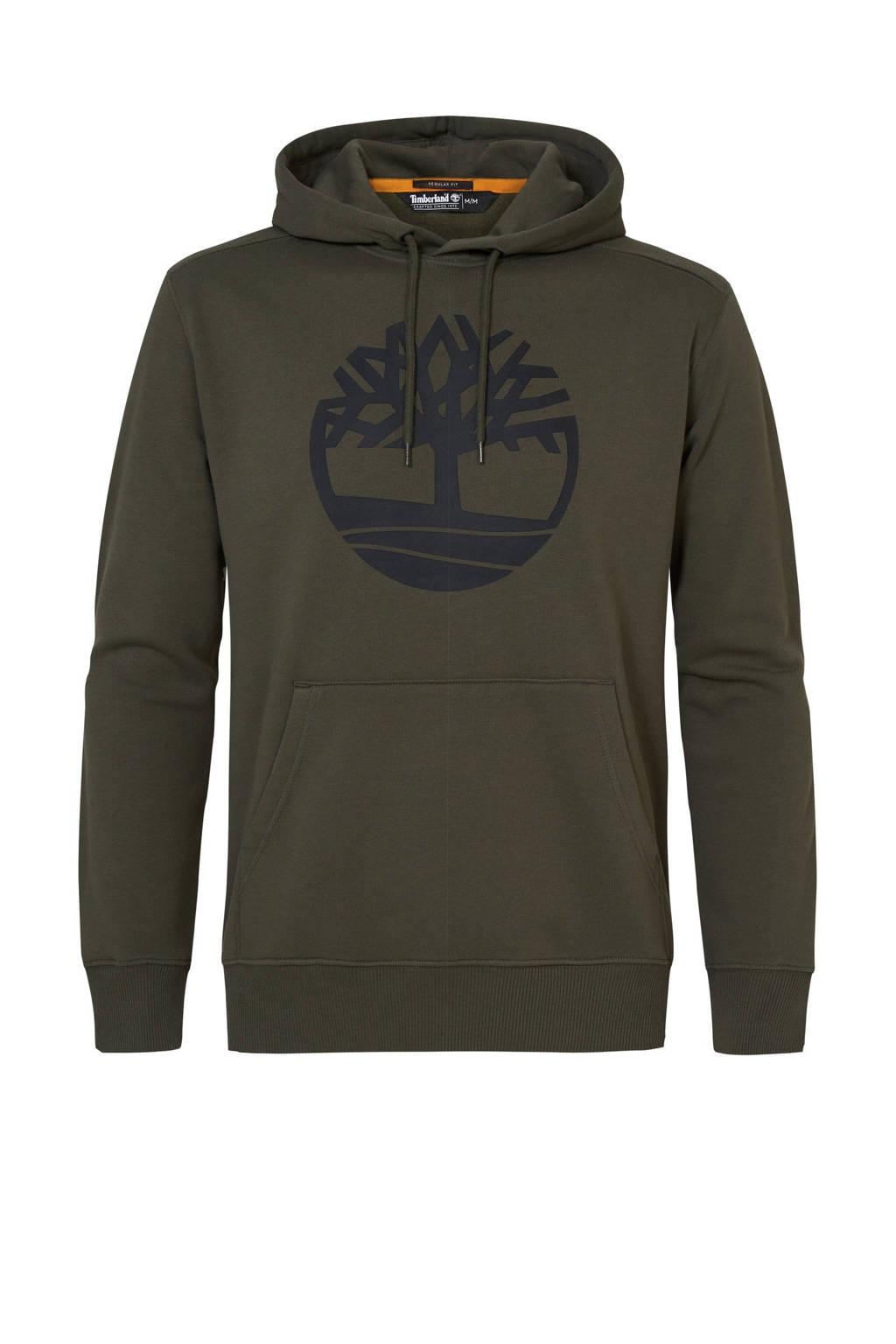 Timberland hoodie kaki, Kaki