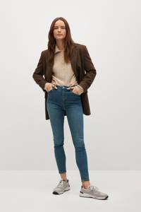 Mango high waist skinny jeans blue