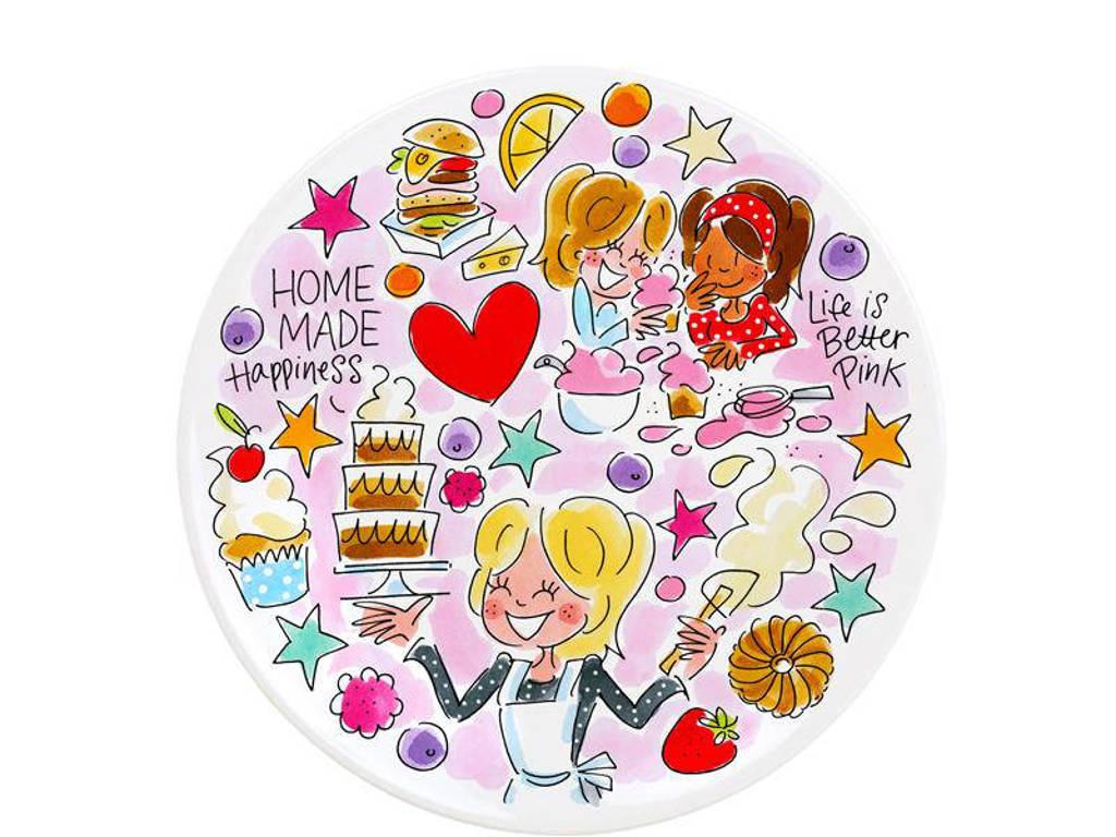 Blond Amsterdam ontbijtbord (Ø23 cm) (set van 2), Multikleur