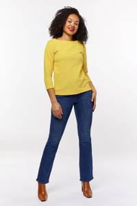 HEMA high waist bootcut jeans middenblauw